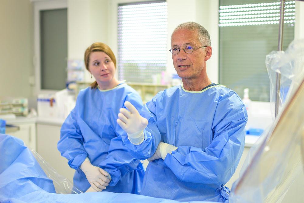 Praxis für Angiologie und Kardiologie Frankfurt - OP