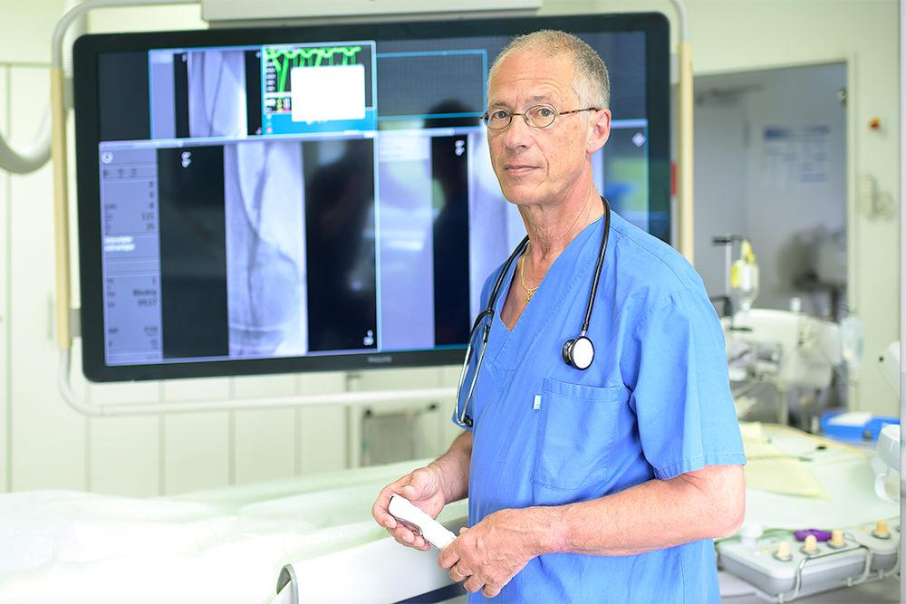 Praxis für Angiologie und Kardiologie Frankfurt - Team - Prof Dr med Horst-Sievert